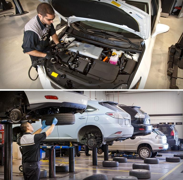 Lexus Dealership Maintenance