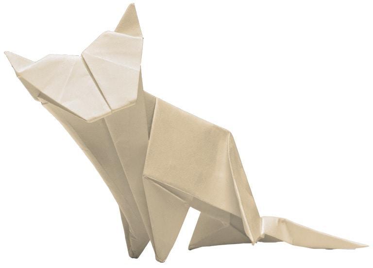 Lexus Origami Cat