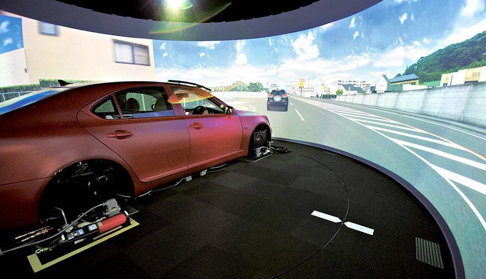 Lexus Drive Simulator