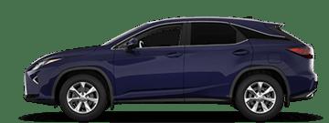 Lexus RX comparison